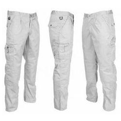 Spodnie robocze Vobster do pasa białe