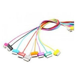 4world Kabel USB 2.0 do Galaxy Tab transfer/ładowanie 1.0m biały
