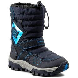 Śniegowce GEOX - J Himalaya B Abx C J54B5C 0FUCE C4231 Morski/Błękitny