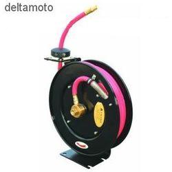 Zwijacz z wężem ciśnieniowym do smarów i olejów hydraulicznych