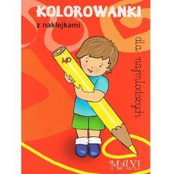 Kolorowanki dla najmłodszych z naklejkami