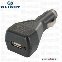 Ładowarka Olight samochodowa USB - adapter