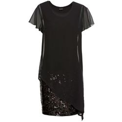 546513e24b ... (suknie sukienki closet signature sukienka koktajlowa black) we  wszystkich kategoriach. Sukienka koktajlowa z dżerseju z cekinami bonprix  czarny