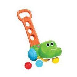 Interaktywny krokodyl odkurzacz z piłeczkami B Kids PUL64703