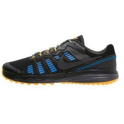 Nike Performance DUAL FUSION TRAIL 2 Obuwie do biegania Szlak black/anthracite/laser orange/photo blue