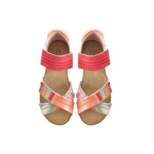 MACIEJKA 03375 2900 5 rudy, sandały damskie