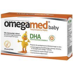 Omegamed Baby dla niemowląt i dzieci x 30 kaps