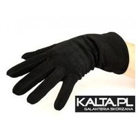 Damskie rękawiczki welurowe, ciepłe i wygodne