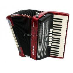 Hohner Bravo III 96 akordeon (czerwony) Płacąc przelewem przesyłka gratis!