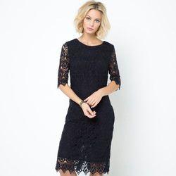 sukienka z gipiury, 100% bawełny