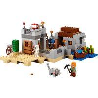 Lego MINECRAFT Minecraft the desert outpost 21121