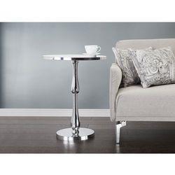 Nowoczesny stolik kawowy - lawa - aluminium - MALABO