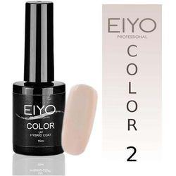 Lakier hybrydowy EIYO Natural - kolor nr 2 - Beż French - 15 ml Lakiery hybrydowe