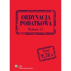 Ordynacja podatkowa - Dostępne od: 2013-10-29 (opr. miękka)