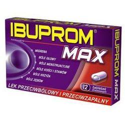 Ibuprom MAX x 12tabletek