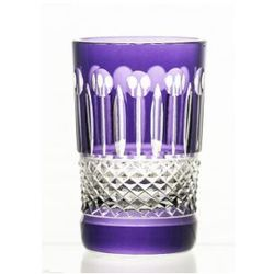 Szklanki kolorowe kryształowe do kawy 6 sztuk -7015