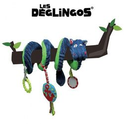 Les Deglingos Spirala edukacyjna Hipopotam Hippipios
