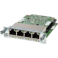 Four port 10/100/1000 Ethernet switch interface card