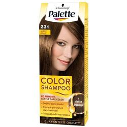 PALETTE Color Shampoo 231 Jasny brąz Szampon koloryzujący