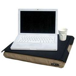 Podkładka pod laptop Bosign antypoślizgowa 46 cm, czarno - brązowa