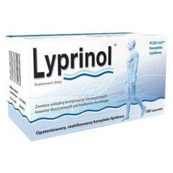 Lyprinol kaps.elast.(żelatynowe) 0,24 g 180 kaps.