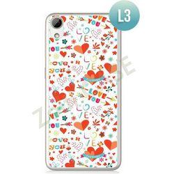 Obudowa Zolti Ultra Slim Case - HTC Desire 626 - Romantic- Wzór L3 - L3