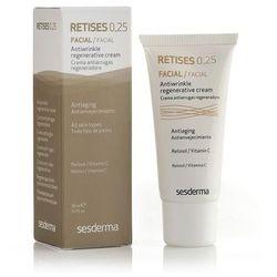 SesDerma - Retises 0.25% Regenerating Anti-Wrinkle Cream - Krem przeciwzmarszczkowy na noc z retinolem 0.25% - 30 ml - DOSTAWA GRATIS! Kupując ten produkt otrzymujesz darmową dostawę !