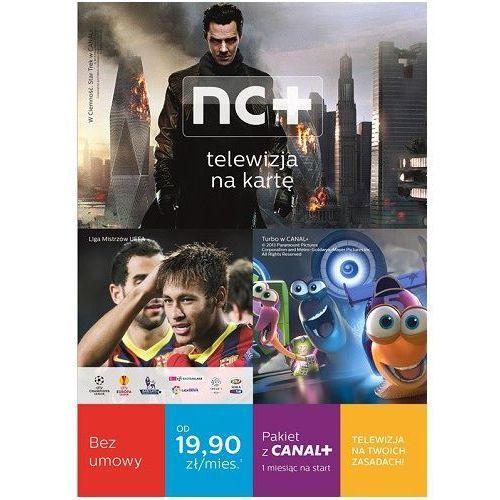 Telewizja na kartę NC+ (130 Kanałów, 1 m-c na start z Canal+) z Dekoderem HD 5800SXREC z dyskiem