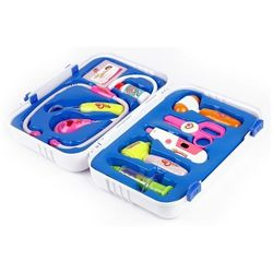 Walizka Małego Doktora - termometr, stetoskop, nożyczki