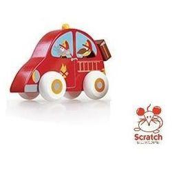 SCRATCH Drewniany samochodzik - Straż pożarna - Drewniany samochodzik - Straż pożarna