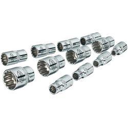 Zestaw nasadek Vigor V1897, 4 - 14 mm, 1/4'' (6,3 mm), 12 elem.