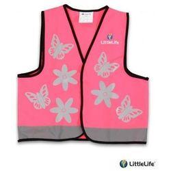 LIFEMARQUE LittleLife - Kamizelka odblaskowa Motylki - rozmiar M