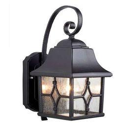 Zewnętrzna LAMPA ścienna KENT KENT Elstead kinkiet OPRAWA ogrodowa IP43 outdoor czarny