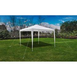 vidaXL Namiot ogrodowy, baldachim (3x3 m), biały Darmowa wysyłka i zwroty
