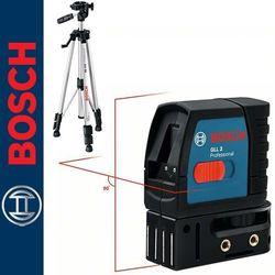 Laser liniowy Bosch GLL 2 + statyw Bosch BS 150