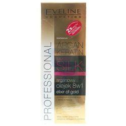 Eveline Liquid Silk Olejek do włosów 8w1 arganowy 150 ml