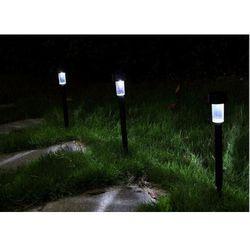 Lampa ogrodowa LED SOLARNA POLUX PIN SL114P Plastik