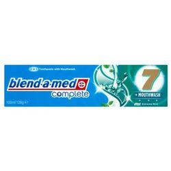 Pasta do zębów Blend-A-Med Complete 7 plus Mouthwash Extreme Mint 100 ml