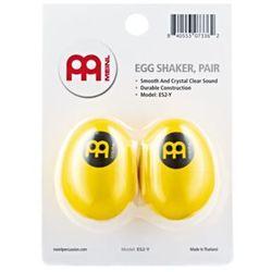 Jajka szejker ES2-Y z plastiku - kolor żółty