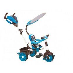 LT Rowerek Trójkołowy 4 w1 Sport EDITIO Blu/White