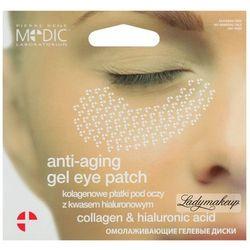 Pierre René - Anti-aging gel eye patch - Kolagenowe płatki pod oczy