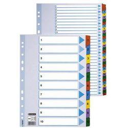 Przekladki numeryczne Esselte Mylar A4/1-10, kolor 100161