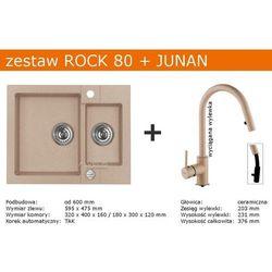 Zestaw AVLEUS ROCK 80 + JUNAN (kolor BEŻOWY)