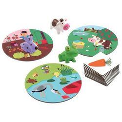 Gra karciano-planszowa Królik w ogrodzie