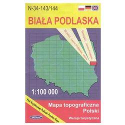 WZKart: BIAŁA PODLASKA 1:100 000 mapa topograficzna Polski wydanie turystyczne (opr. miękka)