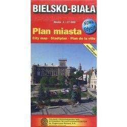 Bielsko-Biała. Plan miasta. 1:17 000 PPWK - Dostawa zamówienia do jednej ze 170 księgarni Matras za DARMO