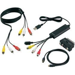 Konwerter video Terratec G1, USB, kopiowanie kaset VHS na PC
