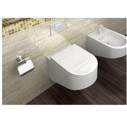 NEST Miska WC wisząca + deska duroplast wolnoopadająca