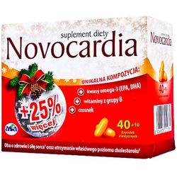 Novocardia 40+10 kaps. kaps. - 50 kaps.