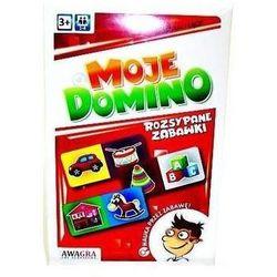 Układanka domino. Rozsypane zabawki - Praca zbiorowa